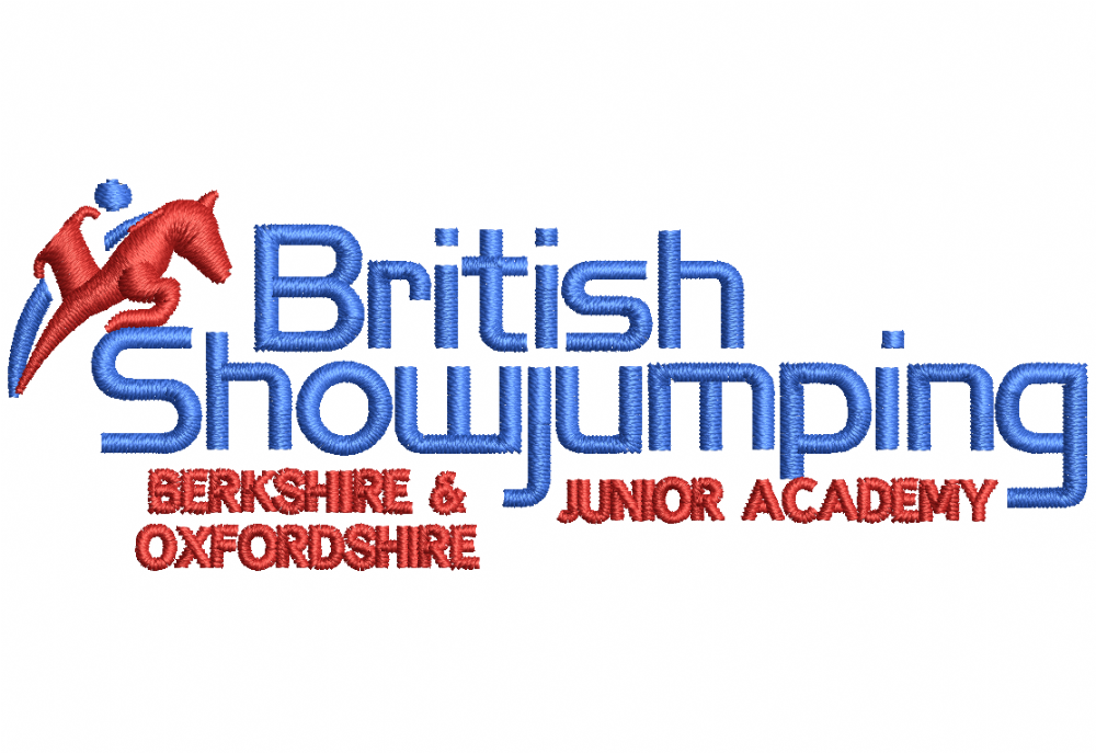 ADULT Berkshire and Oxfordshire Junior Show jumping Academy Polo Shirt